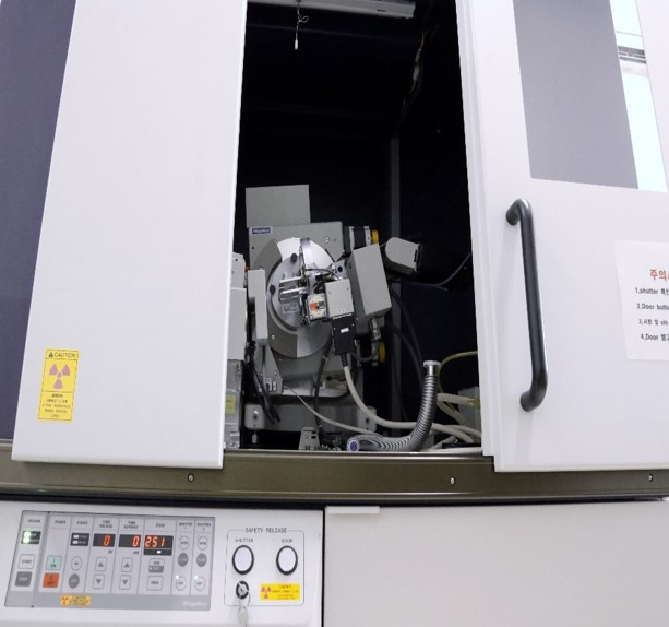X-Ray Diffractometer system (D/MAX-2500V)
